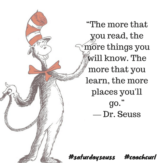 Saturday Seuss #6 Coach Curl