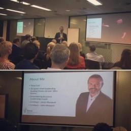 Speaking at Microsoft