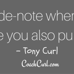 The Tony CoachCurl Podcast
