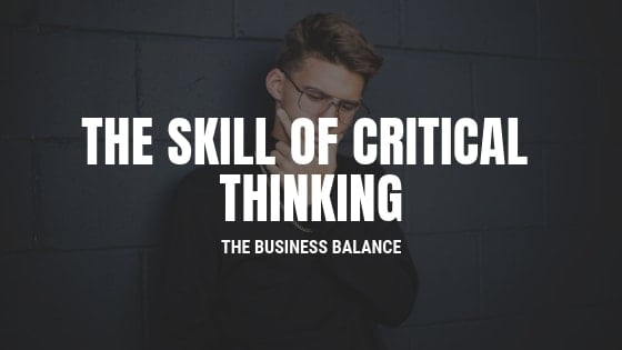 skill of critical thinking