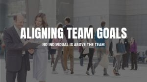 Aligning Team Goals with Individual Goals