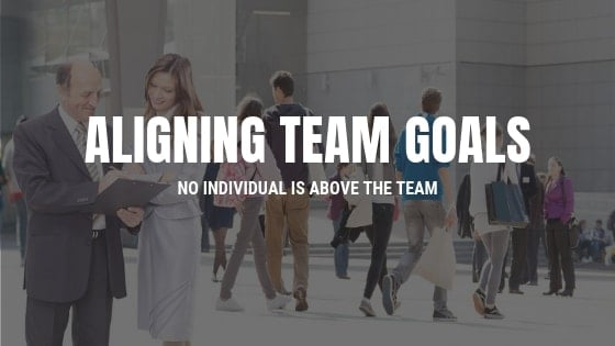 Aligning Team Goals with Individual Goals