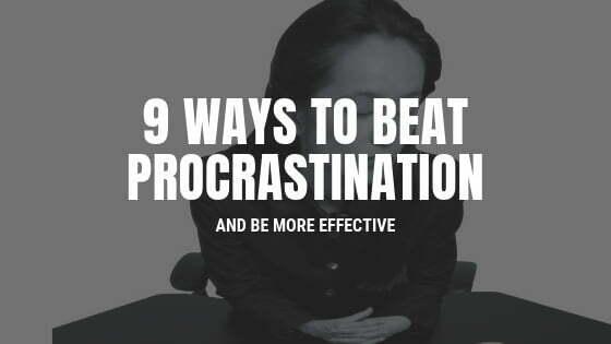 beating procrastination