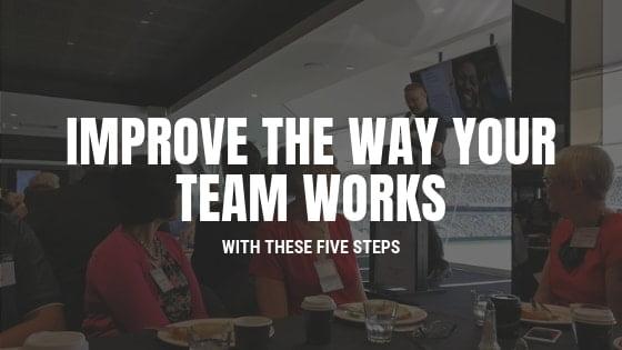 team works