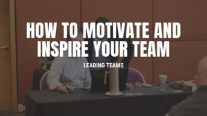 motivate your team